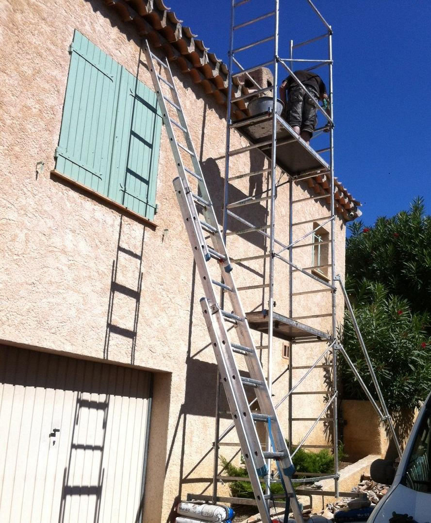 renovation de facade Bastelica